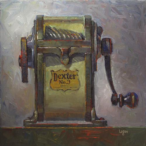 """""""Dexter No. 3 (larger)"""" original fine art by Raymond Logan"""