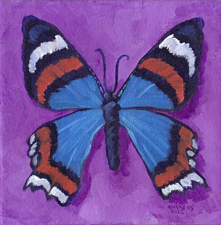 """""""Butterfly No. 14"""" original fine art by Randal Huiskens"""