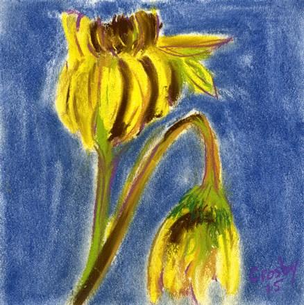 """Jilted"" original fine art by Donna Crosby"