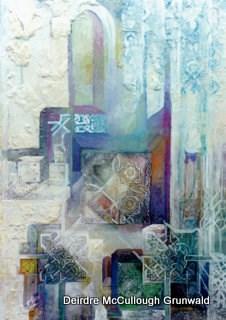 """""""Walls and Doors"""" original fine art by Deirdre McCullough Grunwald"""