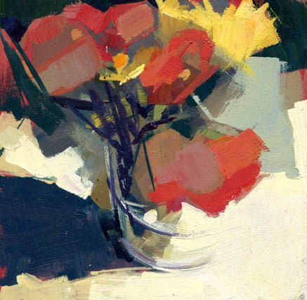 """1194 Gallery Hop"" original fine art by Lisa Daria"