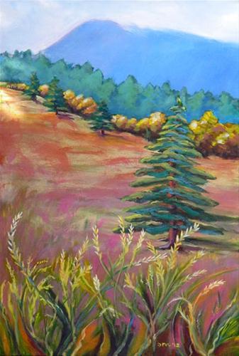 """Mary's Peak Revision"" original fine art by Pam Van Londen"