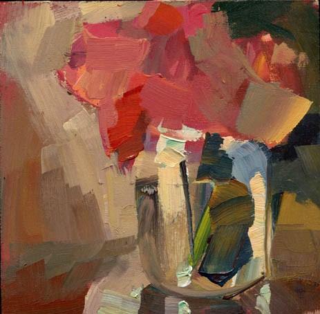 """""""1365 Dumpling"""" original fine art by Lisa Daria"""