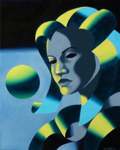 """Mark Adam Webster - Dark Matter Painting Series #4"" original fine art by Mark Webster"