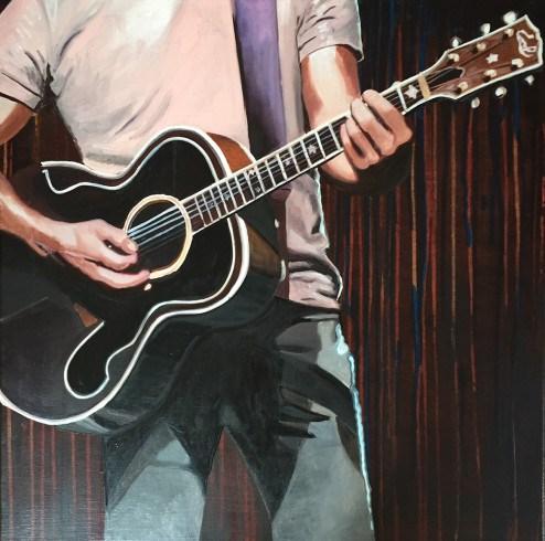 """Morten at La Cigale"" original fine art by Andre Beaulieu"