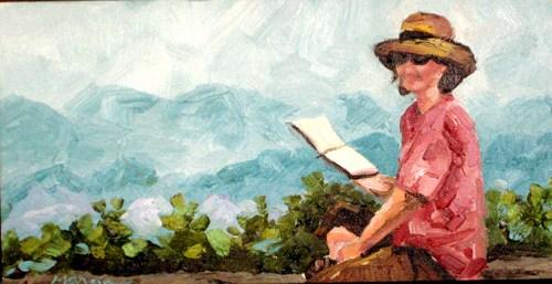 """Sheri"" original fine art by Marcia Hodges"