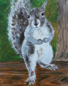 """I Want to Pump You Up!"" original fine art by Phyllisha Hamrick"
