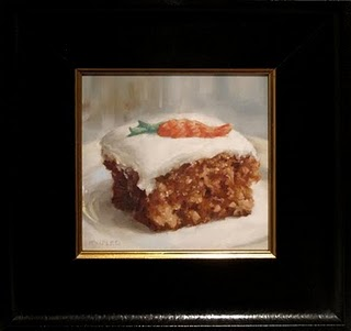"""Carrot Cake"" original fine art by Michael Naples"