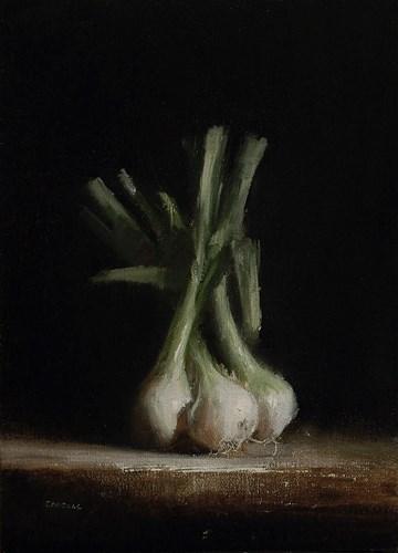 """Salad Onions"" original fine art by Neil Carroll"
