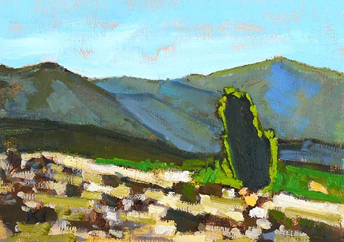 """Near Temecula"" original fine art by Kevin Inman"