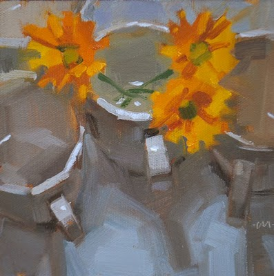 """Bright Spots"" original fine art by Carol Marine"