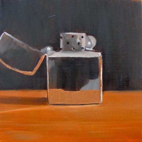"""""""zippie"""" original fine art by Louise Kubista"""