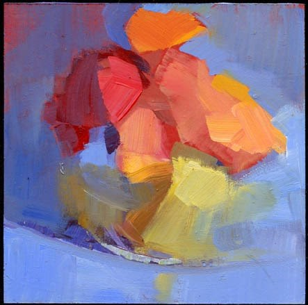 """2002 Second opinion"" original fine art by Lisa Daria"