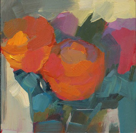 """1313 By the Glass"" original fine art by Lisa Daria"