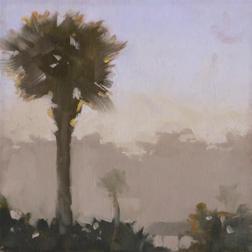 """Shem Creek Sunrise"" original fine art by Susan Matteson"