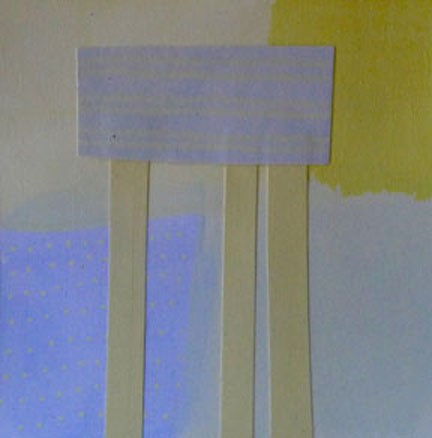 """COLLAGE No. 10"" original fine art by Linda Popple"