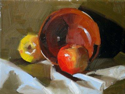 """Iron Bowl --- Sold"" original fine art by Qiang Huang"
