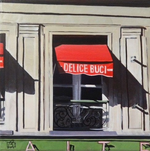 """Delice Buci"" original fine art by Andre Beaulieu"