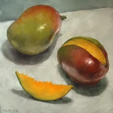 """Mangos No.2"" original fine art by Michael Naples"