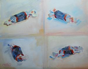 """10 Minute Tootsies"" original fine art by Kimberly Santini"