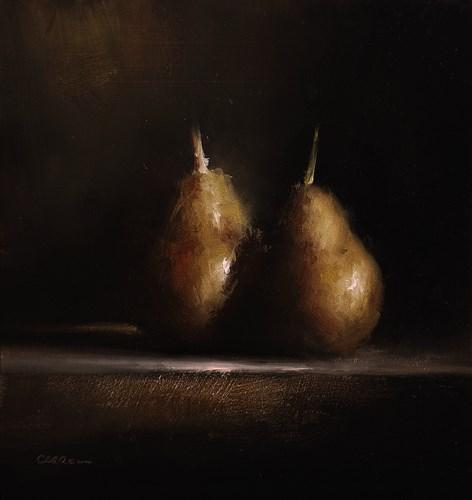 """""""Golden Pears"""" original fine art by Neil Carroll"""