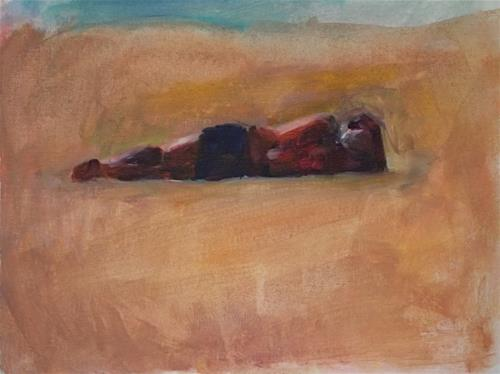"""What I See"" original fine art by Sharon Savitz"