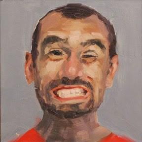 """""""FACE-IT #44"""" original fine art by Helen Cooper"""