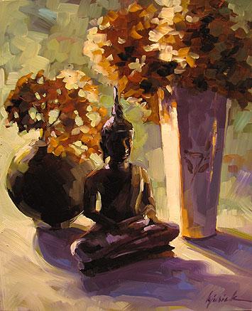 """Morning Zen"" original fine art by Karin Jurick"