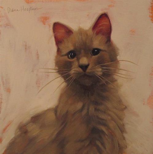 """Calvin II"" original fine art by Diane Hoeptner"