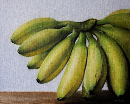 """Baby Bananas"" original fine art by Jonathan Aller"
