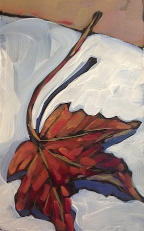 """""""Fallen"""" original fine art by Kat Corrigan"""