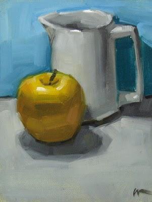"""Pale Comparison"" original fine art by Carol Marine"