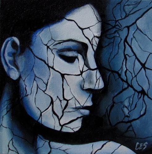 """""""Web of Lies"""" original fine art by ~ces~ Christine E. S. Code"""