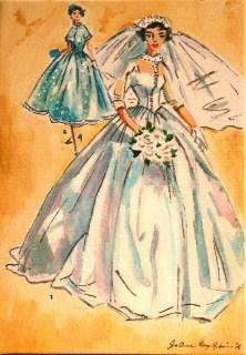 """Vintage Brides"" original fine art by JoAnne Perez Robinson"