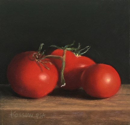 """Campari Trio"" original fine art by Cristine Kossow"