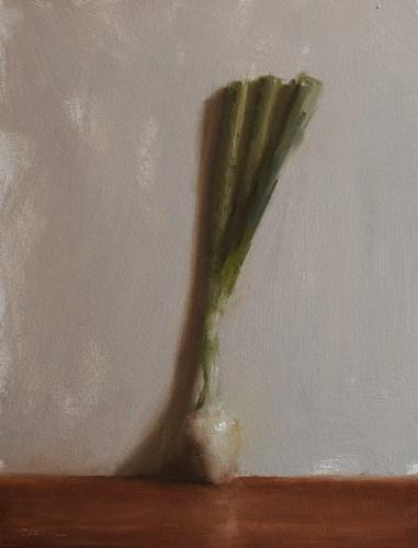 """Spring Onion"" original fine art by Neil Carroll"