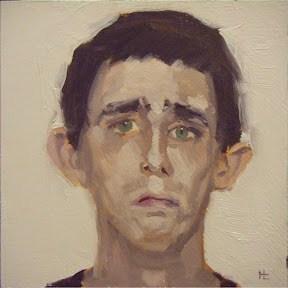 """""""FACE-IT.  #20"""" original fine art by Helen Cooper"""