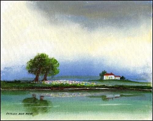 """""""Serenity"""" original fine art by Patricia Ann Rizzo"""