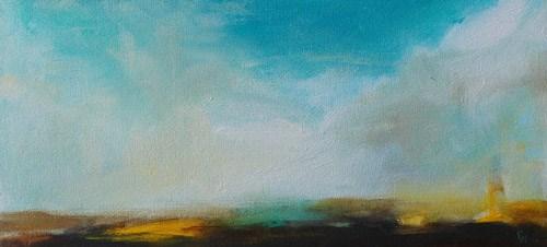 """""""Skylight"""" original fine art by Pamela Munger"""