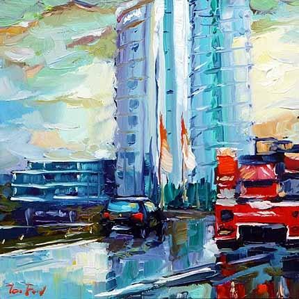"""Nach dem Regen"" original fine art by Jurij Frey"