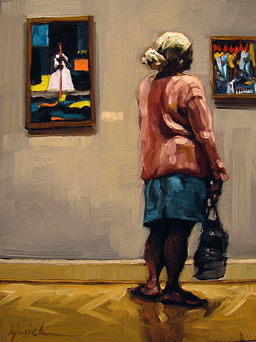 """Mini Series"" original fine art by Karin Jurick"