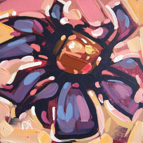 """Flower abstraction 213"" original fine art by Roger Akesson"