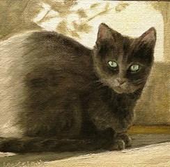 """""""Roxie"""" original fine art by Judith McKenna"""