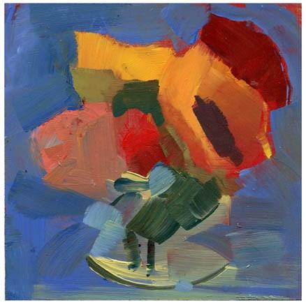 """2707 Whatever Flutters, Whatever Swirls"" original fine art by Lisa Daria"