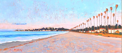 """Santa Barbara Sunrise"" original fine art by Kevin Inman"