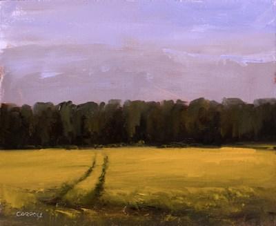 """""""Rapeseed Field"""" original fine art by Neil Carroll"""