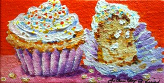 """Big Bite"" original fine art by JoAnne Perez Robinson"