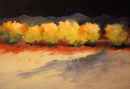 """Farm Country Winter, Landscape Paintings by Arizona Artist Amy Whitehouse"" original fine art by Amy Whitehouse"