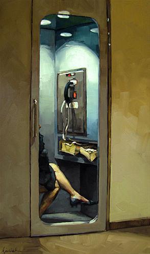 """Right To Privacy"" original fine art by Karin Jurick"