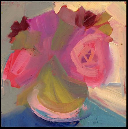 """2481 handsome exchange"" original fine art by Lisa Daria"
